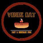 Venez Eat Logo - Transparent Background